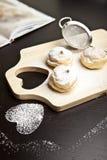 Pasteles dulces Foto de archivo
