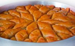 Pasteles dulces (Baklava) Imágenes de archivo libres de regalías