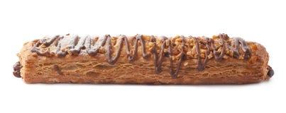 Pasteles dulces del bollo del pan aislados Fotos de archivo libres de regalías