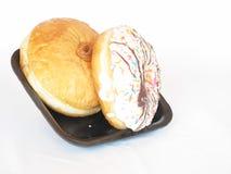 Pasteles en la bandeja Fotografía de archivo libre de regalías