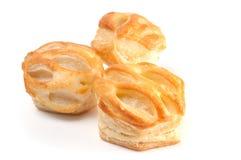 Pasteles franceses fotos de archivo libres de regalías