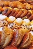 Pasteles franceses Foto de archivo libre de regalías