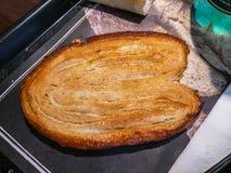 Pasteles franceses más con muchas palmas Foto de archivo