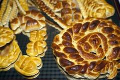 Pasteles hechos en casa Fotografía de archivo