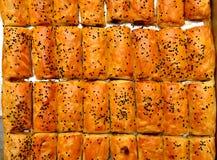 Pasteles hechos en casa con queso Imagen de archivo libre de regalías