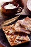 Pasteles hechos en casa del queso Fotos de archivo libres de regalías