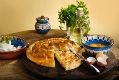 Pasteles hechos en casa del queso Imágenes de archivo libres de regalías