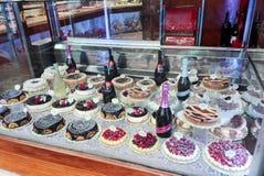 Pasteles italianos Imagen de archivo libre de regalías