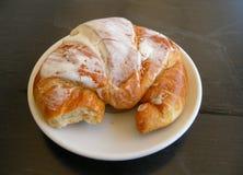 Pasteles italianos del cornetto Foto de archivo libre de regalías