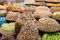 Pasteles marroquíes Fotografía de archivo