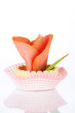 Pasteles sabrosos Imagen de archivo libre de regalías