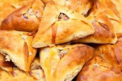 Pasteles tártaros tradicionales de la patata y de la carne Imagen de archivo libre de regalías