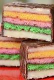 Pastelitos coloridos del mazapán foto de archivo