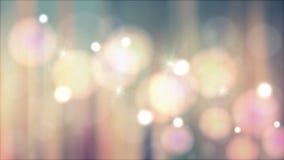 Pastelkleur bokeh lichten Stock Afbeelding
