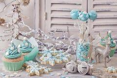 Pastelkleur gekleurde snoepjes Stock Afbeelding