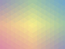 Pastelkleur geometrisch ontwerp Stock Foto's