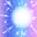 Pastelkleur Multilayer Sneeuwvlok Royalty-vrije Stock Foto