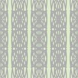 Pastelkleur naadloos patroon met geometrische ornamenten Stock Fotografie