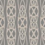Pastelkleur naadloos patroon met geometrische ornamenten Royalty-vrije Stock Foto's