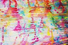 Pastelkleur oranje roze kleuren en tinten, modderige waterverf abstracte kleurrijke achtergrond, gouden textuur Royalty-vrije Stock Fotografie