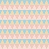 Pastelkleur retro naadloos patroon royalty-vrije illustratie