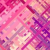 Pastelkleurglitch Achtergrond Stock Foto