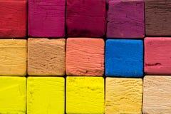 Pastelkleurkrijt 2 Royalty-vrije Stock Foto's