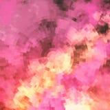 Pastelkleurplons Metaal transparant blad Gekleurd patroonontwerp royalty-vrije illustratie