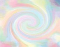 pastelkleursuikergoed gekleurde duizeligheid royalty-vrije illustratie