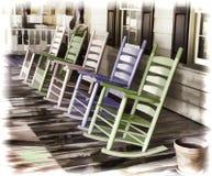 Pastelkleurtuimelschakelaars Stock Foto's
