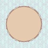 Pastelkleurwijnoogst om kader wordt gestileerd dat Stock Afbeelding