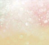Pastell-bokeh Lichter. defocused Lichthintergrund lizenzfreies stockfoto
