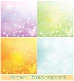 Pastell-färgade bakgrunder Royaltyfria Bilder