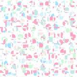 Pastell- Farb-gometric abstrakter Musterhintergrund Lizenzfreie Stockfotografie
