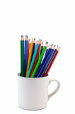 Pastell im Cup stockbilder