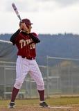 Pastella di baseball dell'università fotografie stock libere da diritti