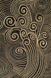 Pastellanstrich - selbst gemacht Stockfotos