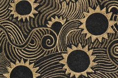 Pastellanstrich - selbst gemacht Stockfoto