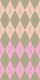 Pastellargyle stock abbildung