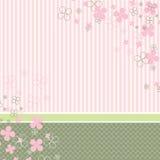 Pastellbabyhintergrund lizenzfreie abbildung