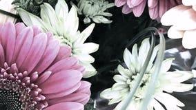 Pastellblumenanzeige, Youtube-Kanal Art Banner Stockbilder