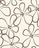 Pastellblumenhintergrund Lizenzfreie Abbildung