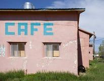 Pastellcafé Lizenzfreies Stockfoto