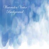 Pastellfärgad bakgrund för ljus vitblåttförälskelse i himmelvinter Arkivbilder