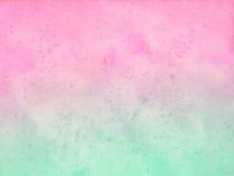 Pastellfärgad bakgrund för vattenfärg Fotografering för Bildbyråer