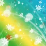 Pastellfärgad färg föreställer Flora Design And Petal Royaltyfri Bild