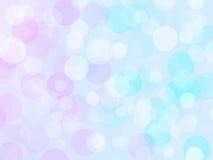 Pastellfärgad färgrik suddig bakgrundsbokeh Royaltyfri Foto