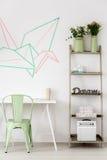 Pastellfärgad idé för studieområde royaltyfria foton