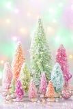 Pastellfärgad jul arkivfoton
