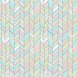 Pastellfärgad kulör texturerad geometrisk abstrakt sömlös modell för sparreprydnad, vektor vektor illustrationer